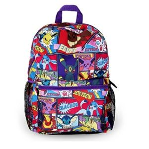 Pokemon Backpack  Character Comic Strip